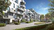 1-Zimmer-Wohnung mit Terrasse Loggia Duschbad