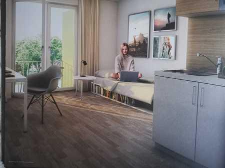Erstbezug mit Einbauküche und Balkon: 1-Zimmer-Wohnung für Studenten/in in Freimann, München in Freimann (München)