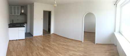 Sehr schöne 1,5-Zimmer-Wohnung, renoviert mit Balkon u. EBK in Schwabing-West, München in Schwabing-West (München)