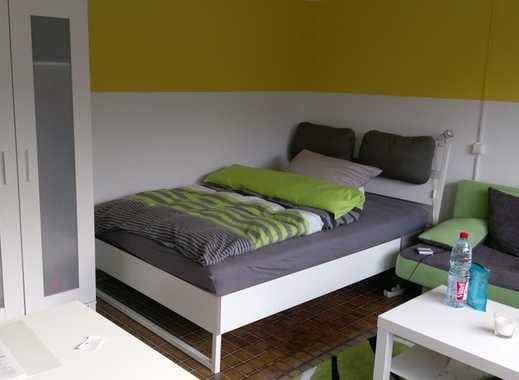 Modern möbilierte 1 Zimmer Wohnung mit kl. Terrasse