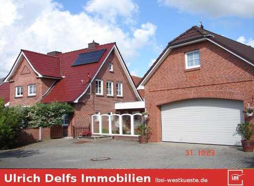 Einfamilienhaus mit schönem Garten u. Einliegerwohnung im Ortskern von Lunden
