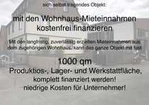 Renditeobjekt Voll-Finanzierung einer 950qm Gewerbehalle
