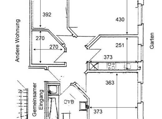 Neuwertige 3-Zimmer-EG-Wohnung mit Garten und EBK in Westerbeck