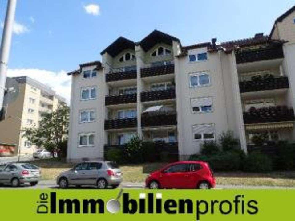 Renovierte Maisonettewohnung mit toller Loggia - Nähe Fachhochschulen in Hof in Hof-Innenstadt