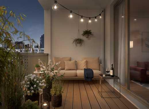 Urban Central! Schöne 1-Zimmer-Penthouse-Wohnung auf 40 m² mit Balkon in zentraler Lage