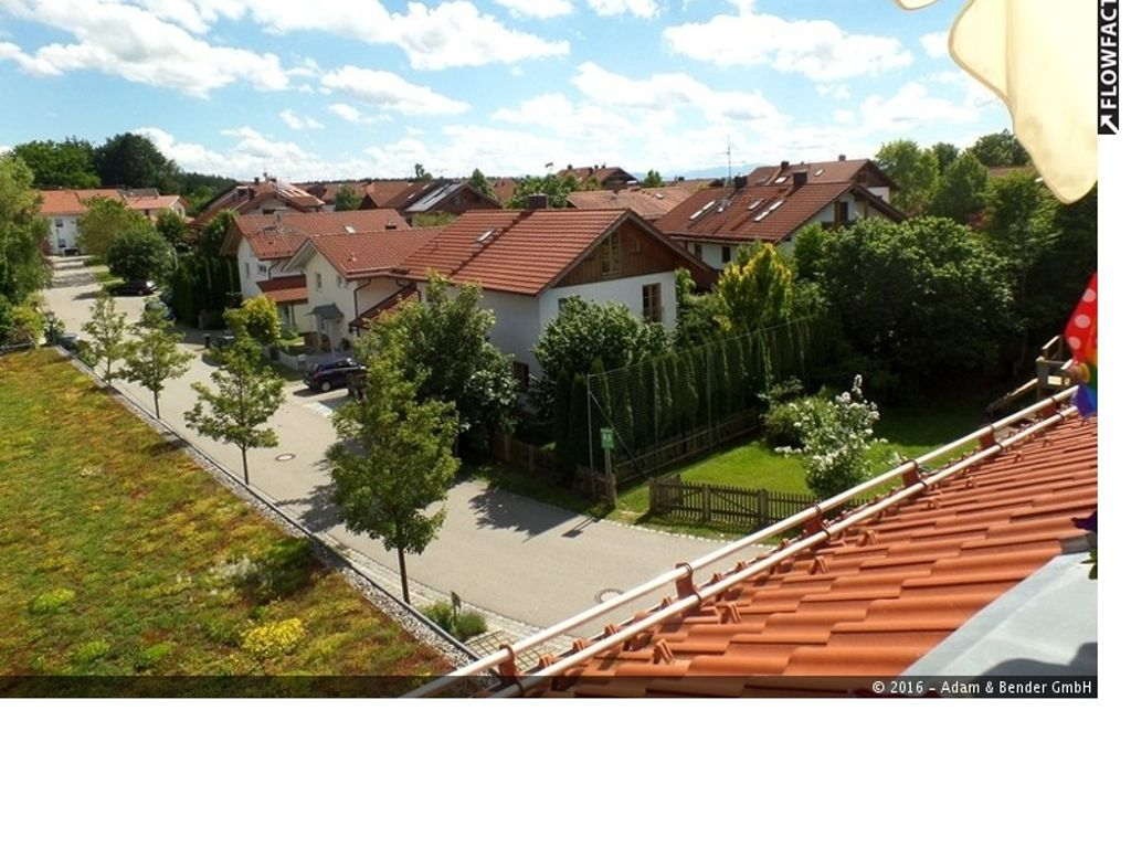 Blick Dachterrasse
