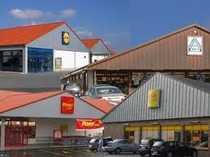 Einkaufs-Zentrum mit