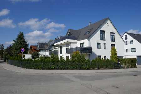 Schöne 4 - Zimmer - Wohnung mit großem Südwest-Garten in Krailling (Starnberg)