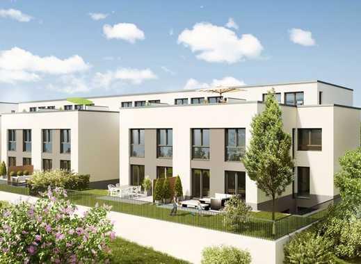 Perfekt für die Familie Neubau-Reihenhaus mit Garten - Musterhaus besichtigen!