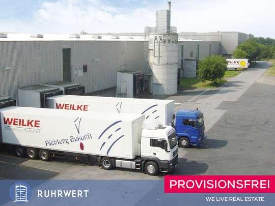 Außenansicht von Moderne Logistikfläche / ca. 23.885 m² / 22 Rampentore / Flughafen-Nähe