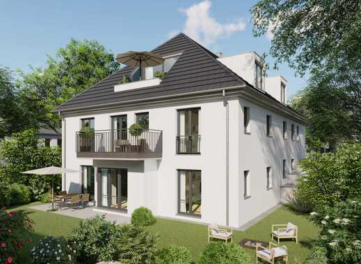 Es ist soweit! Globalverkauf eines Neubauprojekts (6-Fam.-Haus u. 2 DHH) im Zentrum von Karlsfeld!