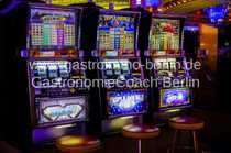 Bar mit Automaten in Bernau