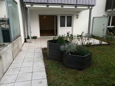 Neuwertige 2-Zimmer-Erdgeschosswohnung mit Terasse in Neuburg an der Donau in Neuburg an der Donau