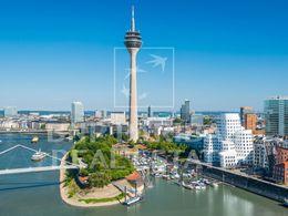 Düsseldorf City Hafen