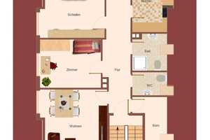 3.5 Zimmer Wohnung in Ansbach (Kreis)