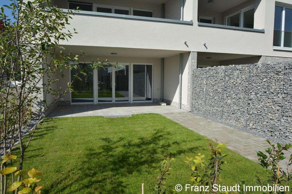 NEUBAU: Exklusive 3-Zimmer-Wohnung in Goldbach mit Gartenanteil in Goldbach (Aschaffenburg)