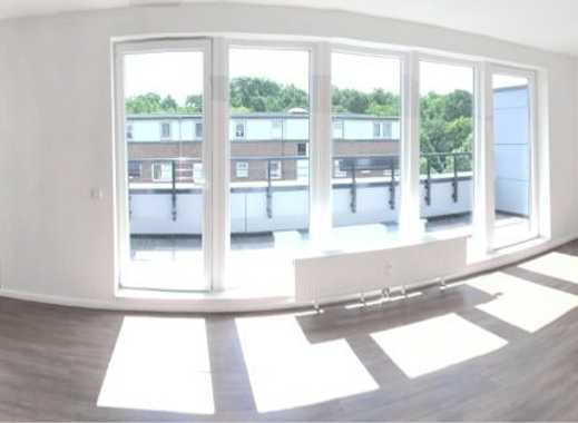 Ihr neuer Nachbar? Der Bürgerpark! - Neubau Dachgeschosswohnung in Findorff