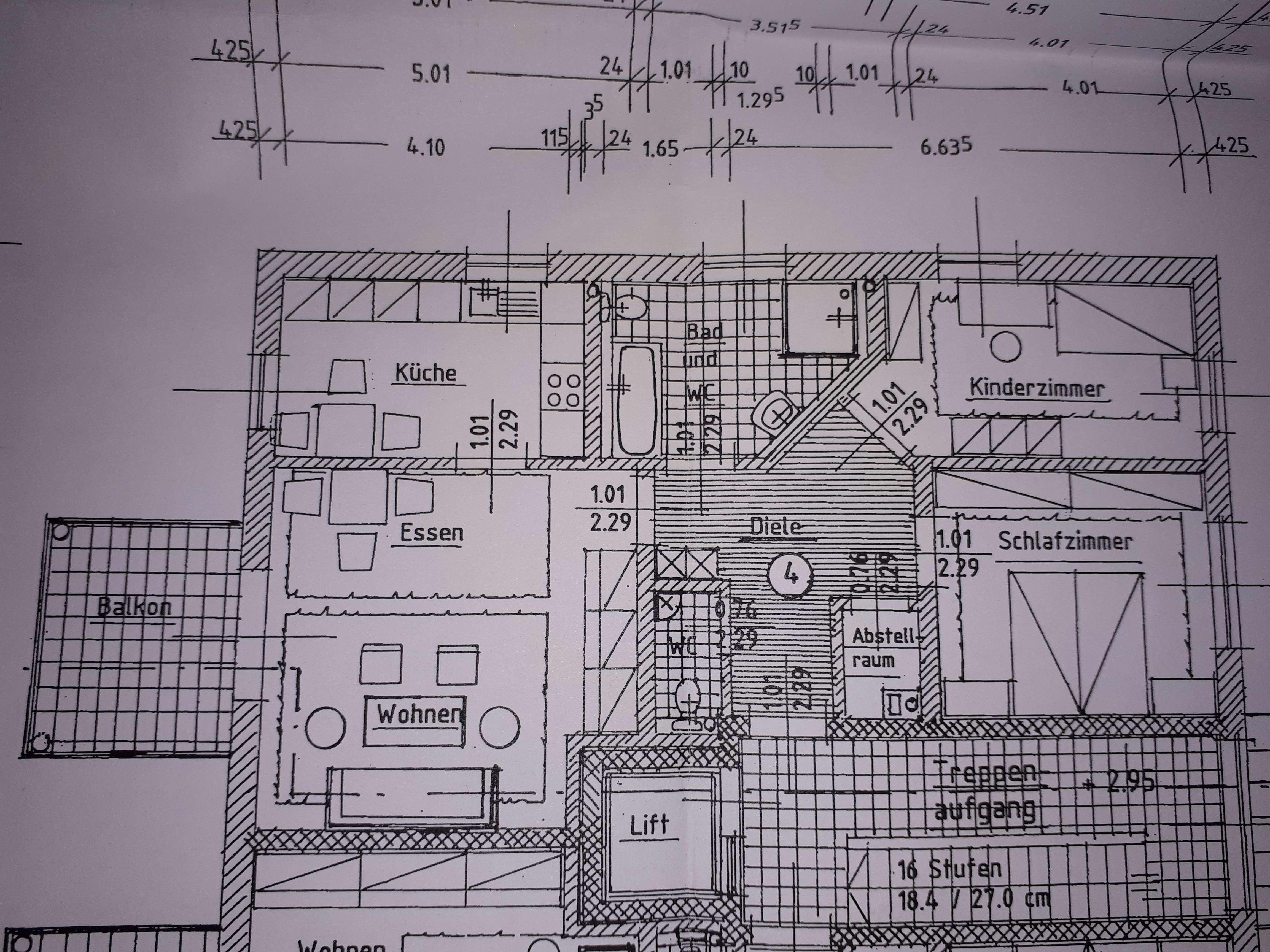 Erstbezug: ansprechende 3-Zimmer-Wohnung mit Balkon in Großaitingen