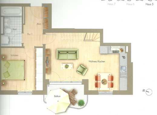 Schöne, helle zwei Zimmer Dachterrassen Wohnung in München, Aubing