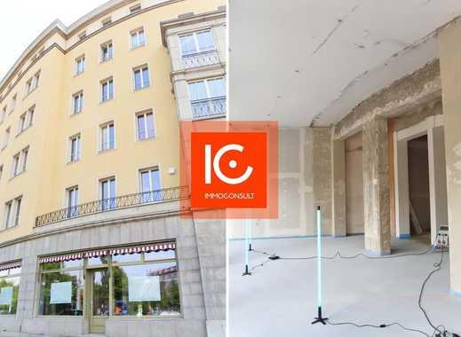 Erstbezug nach Sanierung: derzeit veredelter Rohbau: Gewerbefläche ca. 140 m² in Leipzig