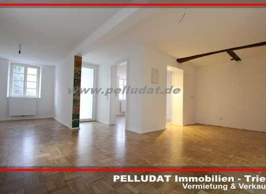 Trier-Euren: Komplett renovierte 2 ZKB Wohnung mit eigenem Eingang und Terrasse.