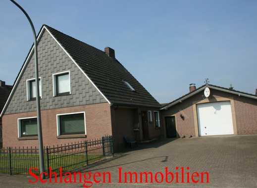 Objekt Nr. 17/626 Einfamilienhaus mit Einliegerwohnung u. Garage in Barßel