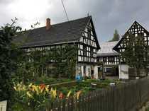 Vierseitenhof Fachwerkhaus mit kleiner Werkstatt
