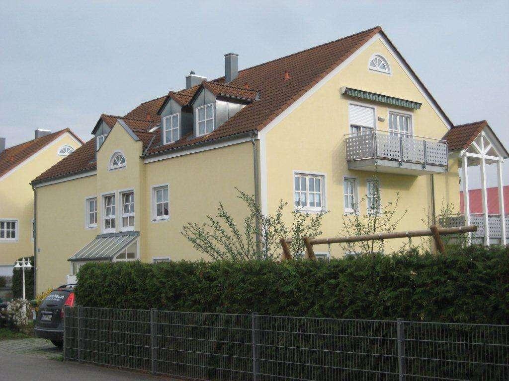 **Helle, ruhige 3-Zi-Dachgeschosswohnung** in Schrobenhausen