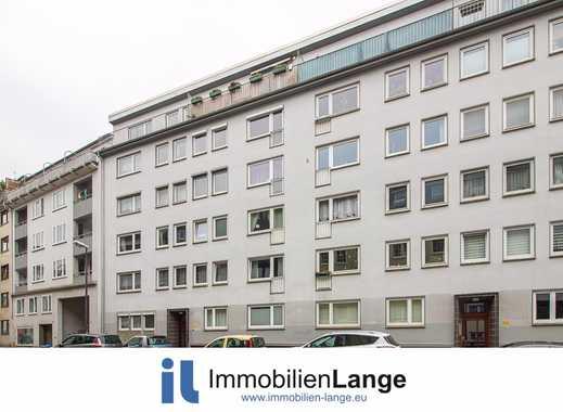 Bahnhofsvorstadt: gepflegte Etagenwohnung mit Balkon