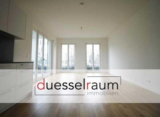 Heinrich Heine Gärten: repräsentative 2 Zimmer-Neubau-Wohnung mit Ankleidezimmer und EBK
