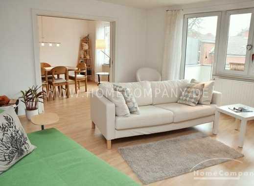 List-Oststadt,  Helle, modern möblierte Wohnung mit Internet und 2 Balkonen Nähe Lister Meile, HB...