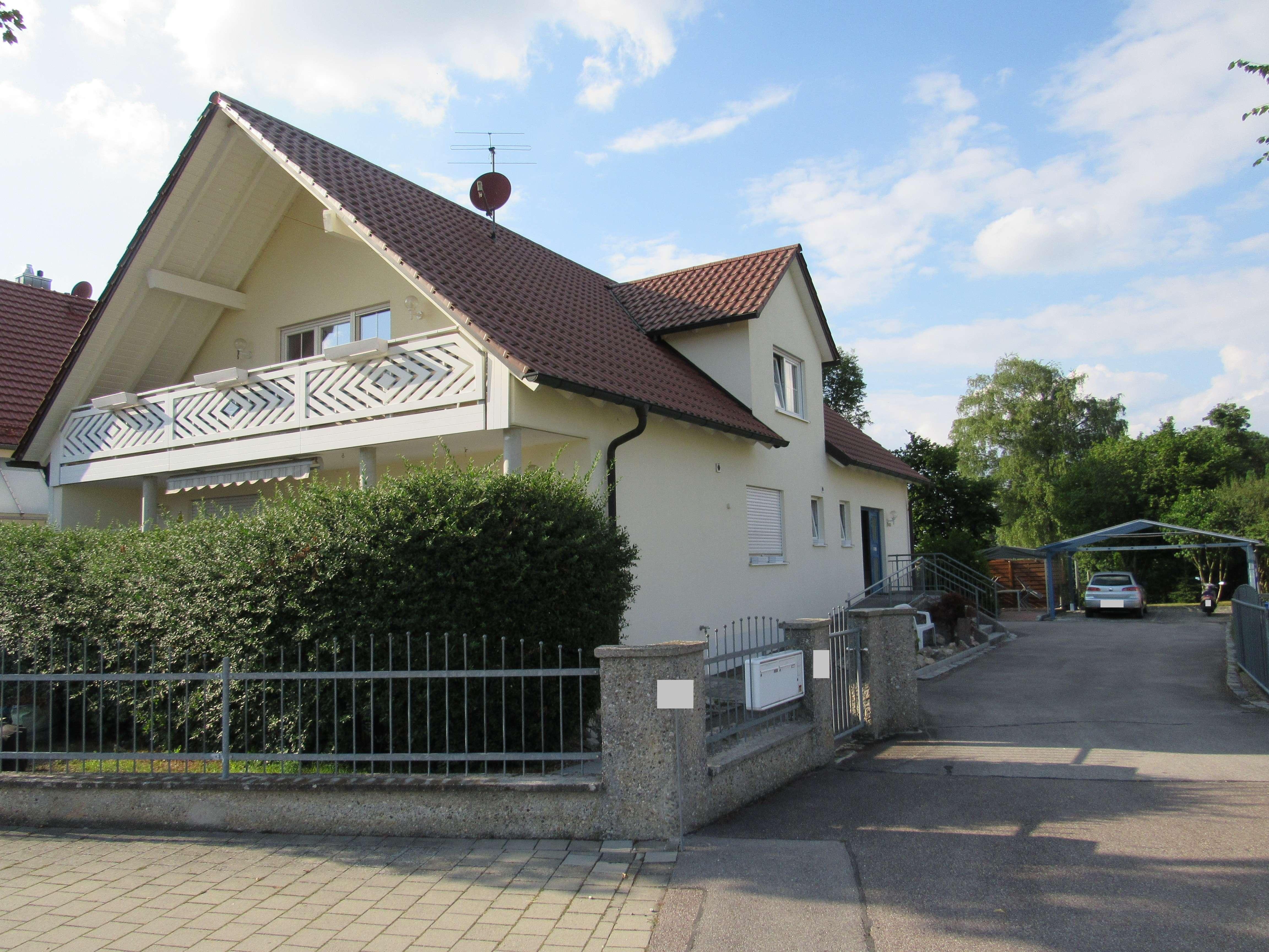 EG-Wohnung mit eigenem Garten in Karlskron - barrierefrei - in