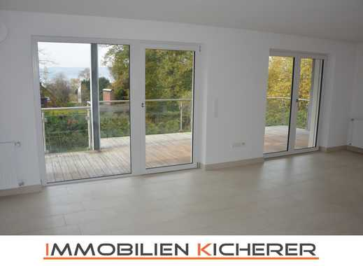 Modernes Wohnen - großer Balkon, gem. Garten, Seeblick - Seenähe - Unteruhldingen