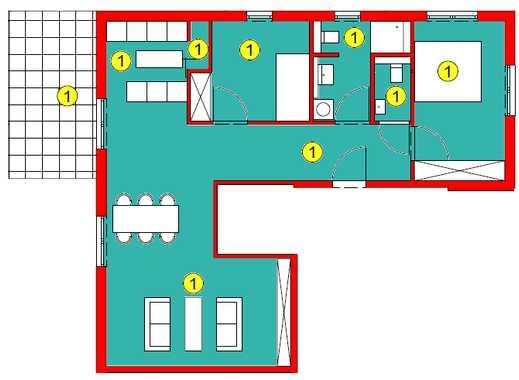 """""""Wohnen an der Brenz"""" 3-Zimmer-Wohnung im Erdschoss"""