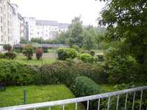 Zentrale 1 Raumwohnung mit Westbalkon