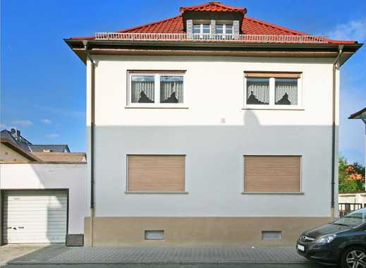 Erweiterungsfähiges Einfamilienhaus in Lampertheim, beste Lage
