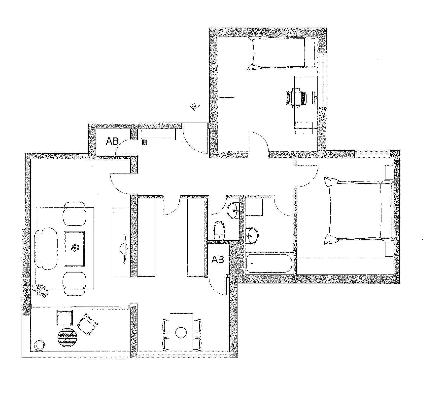 schöne 3-Zimmer-Wohnung mit Balkon in Aschau am Inn in Aschau am Inn (Mühldorf am Inn)