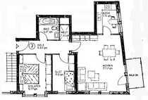 Sanierte 3-Zimmer-Hochparterre-Wohnung mit Balkon und