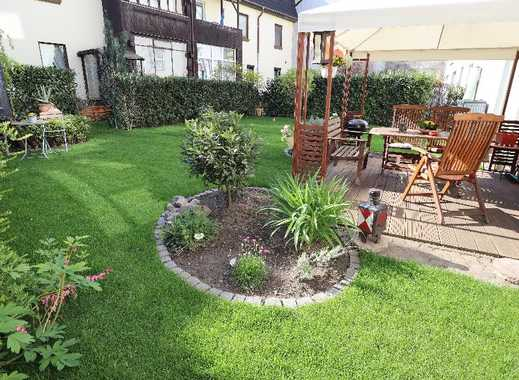 Eigener Garten ist Goldes wert! Vermietete 2-Raum-Eigentumswohnung mit Rheinblick zur Kapitalanlage