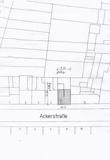 Lageplan Ackerstrasse 9