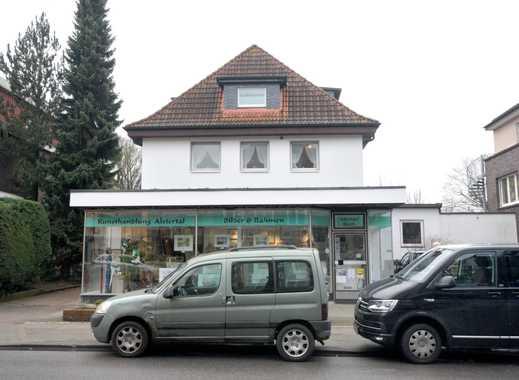 3-Zi.-Whng. 84 m² in HH-Poppenbüttel: 1. OG; Wintergarten; Gartenanteil mit Terrasse auf Wunsch