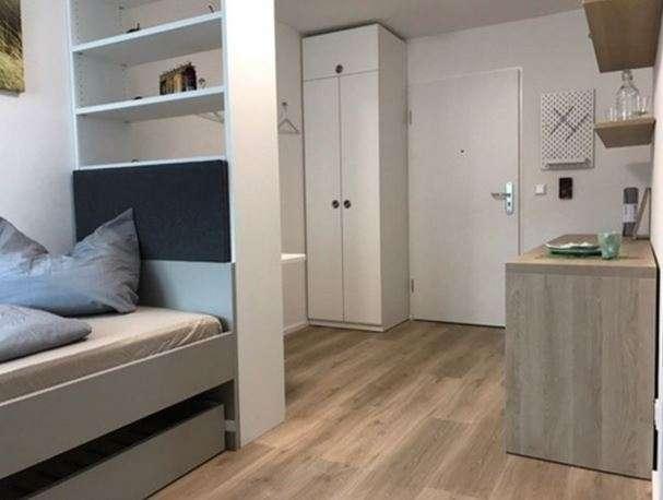 Schöne Renovierte, MÖBLIERTE ein Zimmer Wohnung in Erlangen, Sieglitzhof in