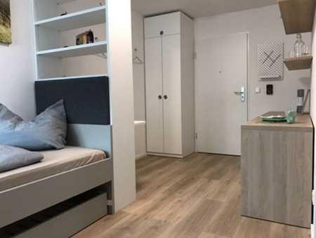 Schöne Renovierte, MÖBLIERTE ein Zimmer Wohnung in Erlangen, Sieglitzhof in Sieglitzhof (Erlangen)