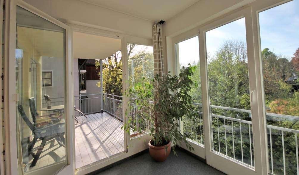 Exklusive 3,5-Zimmer-Wohnung mit Balkon und EBK in Feldafing in direkter Nähe zum Bahnhof in Feldafing (Starnberg)