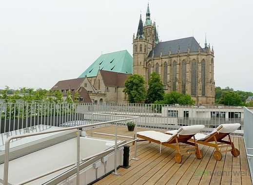 Erfurt: Altstadt, Erstbezug in neugebautes Loft am Domplatz mit Parkettboden, Tiefgarage, Lift un...