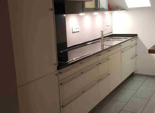 Gepflegte hochwertige 3-Zimmer-Maisonette-Wohnung mit Balkon und Einbauküche in Schweich