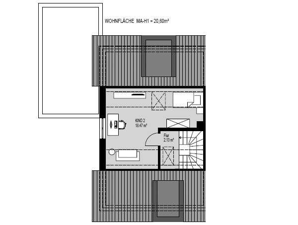 DH_Haus 1_Dachgeschoss