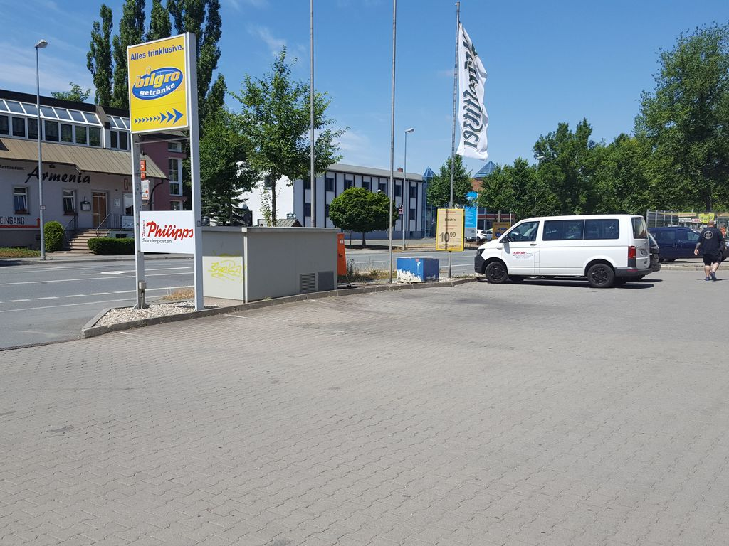 Imbissstandplatz (Privatgrund)