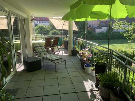 Wohnen in der Stadt - und doch im Grünen! (3-Zimmer-Wohnung) in Schwabach-Innenstadt