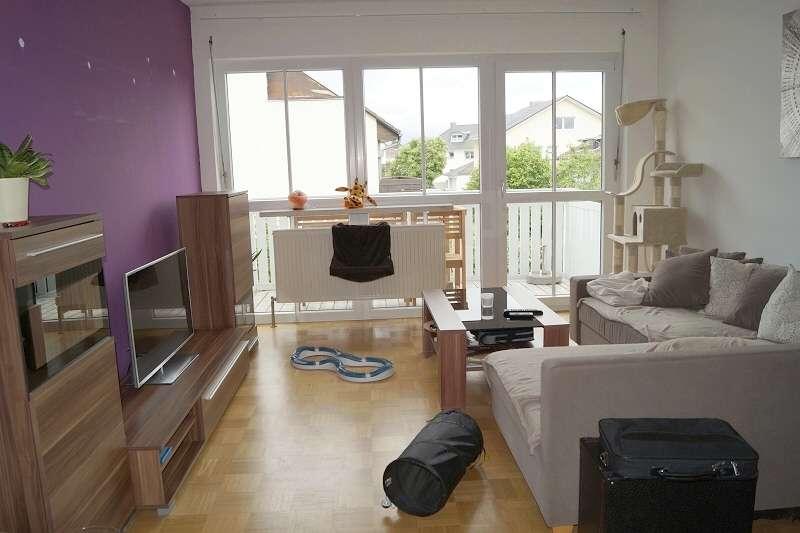 Reserviert! Gut geschnittene 2 Zimmer-Wohnung mit Balkon